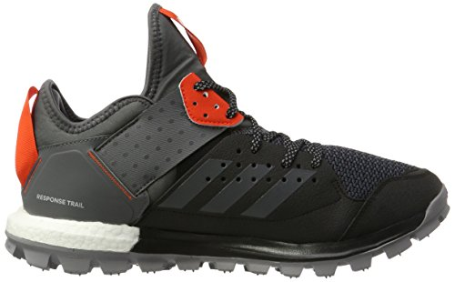 adidas Response TR M, Scarpe Running Uomo Nero (Core Black/grey Five/energy)