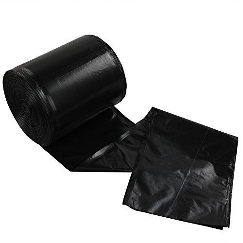 Lesbye - Bolsas de Basura (5 L, 125 Unidades), Color Negro