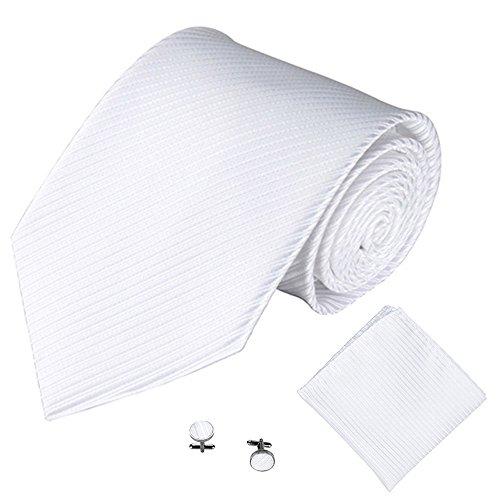 ische Krawatte Party Taschentuch Krawatte/Einstecktuch / Manschettenknöpfe 3 STÜCKE(B) ()