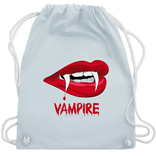 Halloween - Vampire Blut - Unisize - Pastell Blau - WM110 - Turnbeutel & Gym Bag