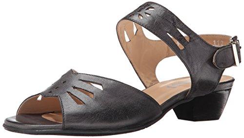 Fidji V112 Cuir Sandale Black