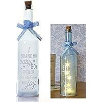 Botella de Estrella de Boxer para Regalos, Color Azul, Normal