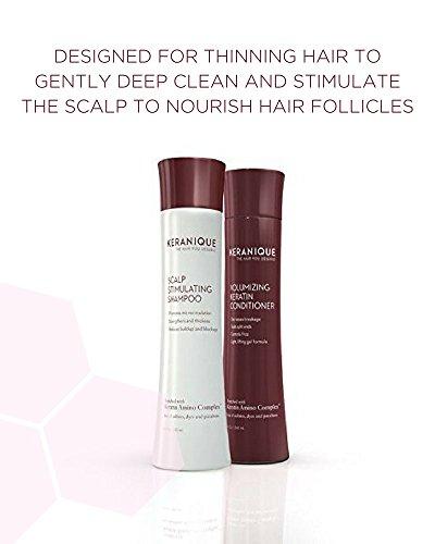 Keranique Volumizing Shampoo-Conditioner, 8 oz. Duo by Keranique
