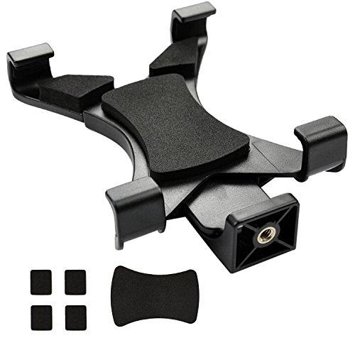 Ipow® Universal Tablet Stativ Halterung Halter Clip Mount Adapter für Selfie Stick Stange Kamera Stativ Tripod, Inklusive 1/4