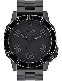 Nixon - A506SW2242-0- Montre Homme - Quartz - Analogique - Bracelet Acier inoxydable noir