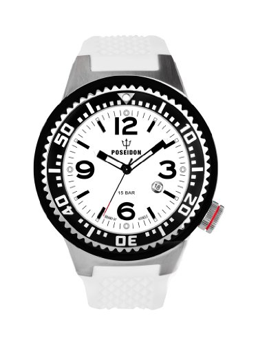 Kienzle K2031152193-00266 - Orologio da polso uomo, silicone, colore: bianco