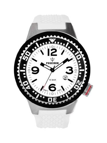 Kienzle Herren-Armbanduhr POSEIDON XL Slim Analog Silikon K2031152193-00266