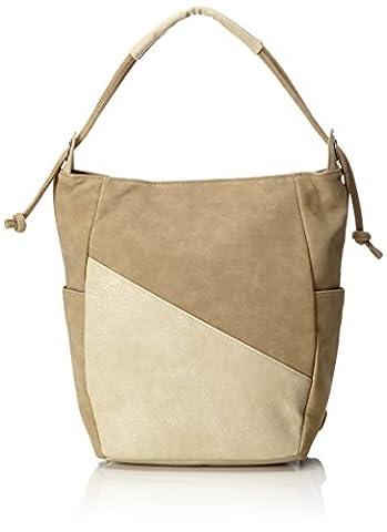 Bench Damen Shoulder Bag Handtasche, Greige, 40.6 x 40.6 x 6.4 cm (Handtasche Bench)