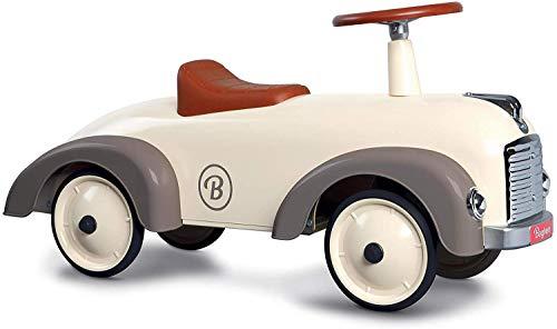 Baghera Bombero Speedster Crema Blanco | Vehículo de Diapositivas para niños: numerosos Detalles realistas...