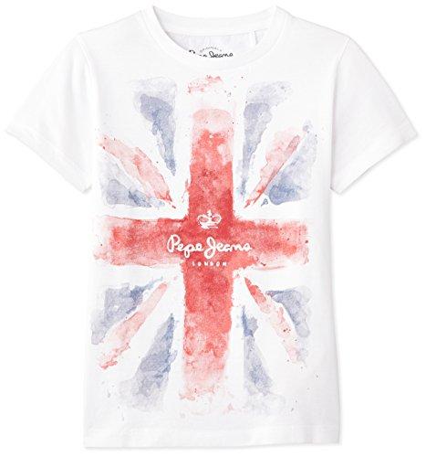 pepe-jeans-s-edition-t-t-shirt-bambino-bianco-white-12-anni-taglia-produttore-small