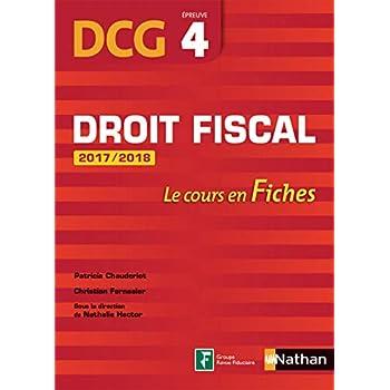 Droit fiscal 2017/2018 - DCG 4 - Fiches