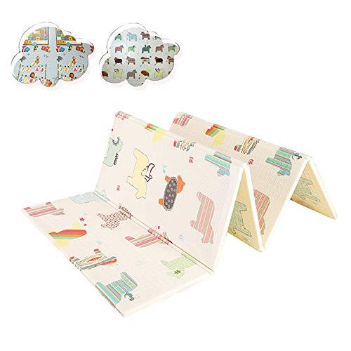 Faltbarer XPE-Spielteppich für Kinder-Bodenfliesen-Spielunterlage für Babys