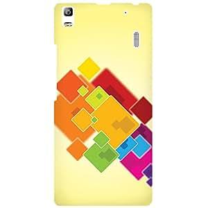 URBAN KOLOURS Original Designer Printed Hard Case Back Cover for Lenovo K3 Note (Colour Cards)