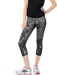 adidas, Pantalones de Correr Medias – SS15, Mujer, ...