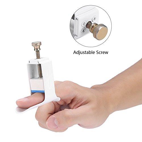 Fingerschiene Verlängerung, Finger Ruhigstell-Schiene Finger Verletzungen Halterung Schiene Orthotics Finger Erweiterte Finger Feste Rehabilitation