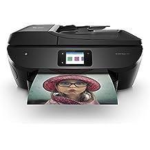 HP Envy Photo 7830 – Impresora multifunción inalámbrica (tinta, Wi-Fi, copiar, escanear, alimentador automático de documentos, 1200 x 1200 ppp, incluido 4 meses de HP Instant Ink), color negro