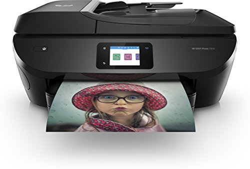 HP Envy Photo 7830 Imprimante Multifonction jet d'encre couleur (15ppm, 4800 x 1200 ppp, USB, Wifi, Instant Ink)