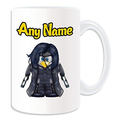 Superhelden Kostüm Cute Girl - Personalisiertes Geschenk, großer Alice ABERNATHY (Tasse (Pinguin Film Charakter Design Thema, weiß)-Jeder Name/Nachricht auf Ihre Einzigartiges-Kostüm Film Superheld Hero Resident Evil