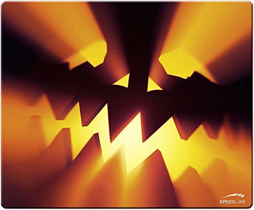 Speedlink Mauspad Halloween/Kürbis (weiche Oberfläche, geringer Gleitwiderstand, gummierte Unterseite, verschiedene Motive) (Halloween Kürbis Silhouetten)