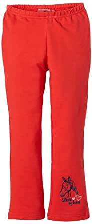 Salt & Pepper Pantalon  Fille - Rouge - Rot (purpur red) - FR : 4 ans (Taille fabricant : 104)