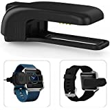 Lucco Portable Handy Charger Dock Base Clip, Light Charger Cradle Replacement for Fitbit Blaze Smart Fitness Watch
