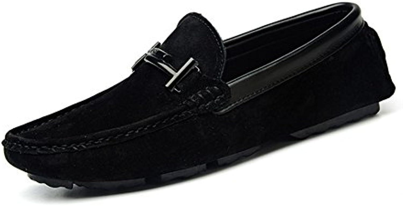 Zapatos de Hombre Zapatos de Suede Perezoso Primavera/Verano / otoño Suela Ligera/Zapatos de conducción Zapatos  -