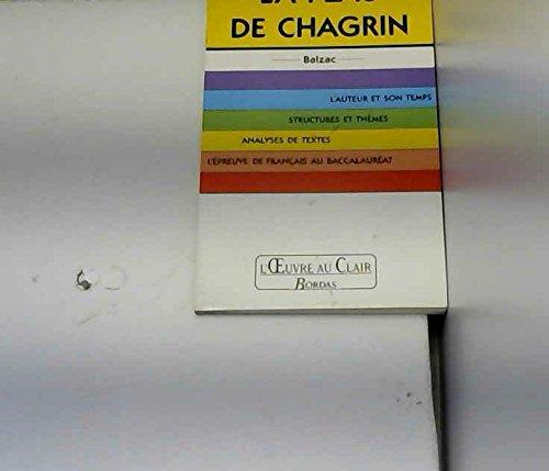 O.CL/BALZAC PEAU CHAGRIN (Ancienne Edition) par de Honoré de Balzac