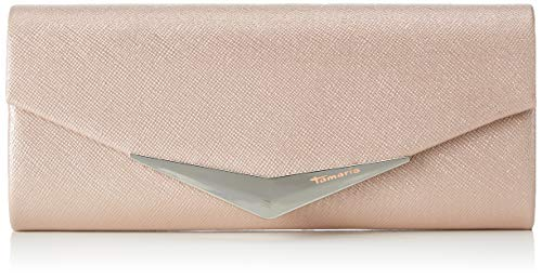Tamaris Damen Tamara Clutch Bag Pink (Rose), 5x11x26 cm