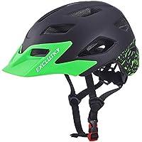 Exclusky Casco da Bicicleta para Niños Infantil Ciclismo Casco Ciclismo de Seguridad Ajustable 50-57cm