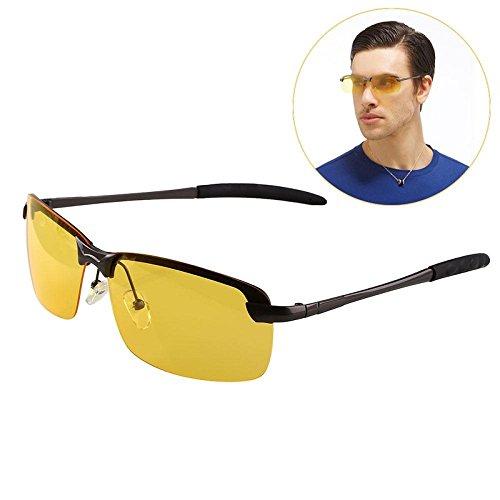 Sedeta Nachtsicht-Brillen Nachtsichtbrille Anti-Glare für den Antrieb