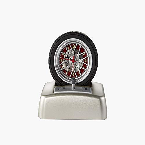Penggao Rueda giratoria Que diseña Sonido Reloj Alarma