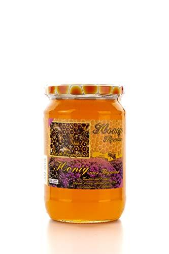 Griechischer Thymian Pinien & Kräuter Premium HONIG - 1 kg kaltgeschleudert - Sfakia Kreta Bienenhonig
