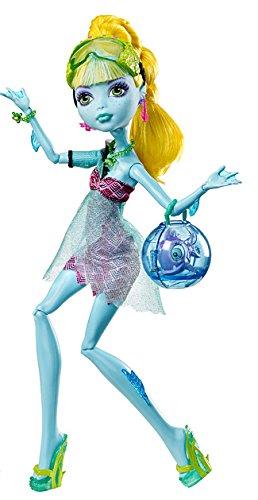 Mattel Monster High BCH06 -  13 Wünsche Lagoona, - High Laguna Monster