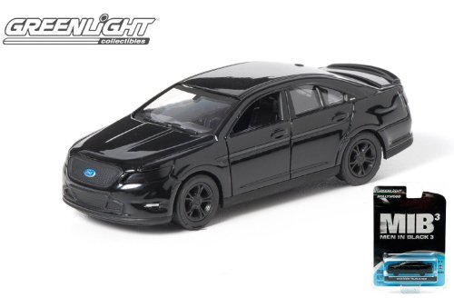 3-greenlight-hollywood-series-2012-ford-taurus-sho-men-in-black-3-mib-1-64-scale-by-greenlight