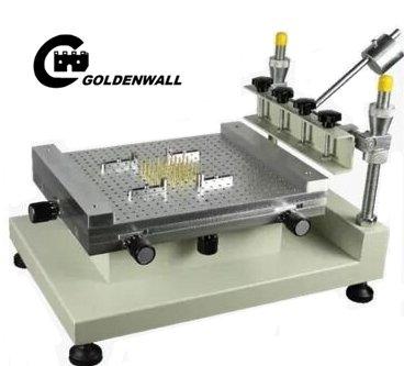 Hohe Präzision Schablone Drucker SMT Siebdruck Maschine T-Shirt Siebdruck Maschine (300* 400mm) Siebdruck Drucker