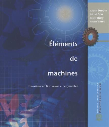 Eléments de machines