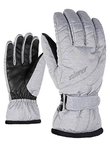 Ziener Damen KILENI PR lady glove Ski-handschuhe/Wintersport, light melange, 8