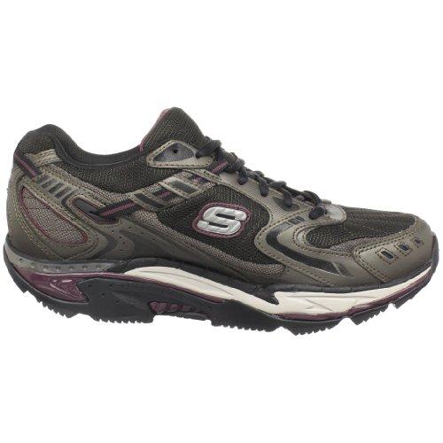 Skechers Diamondback 52060 BKYL Herren Sneaker Braun (Brbk)