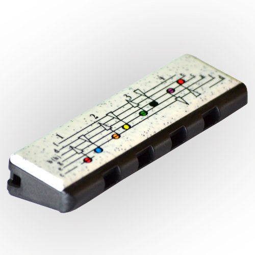 Hohner speedy-armonica 8Stimmen Kinder, Farbe: Schwarz/Weiß