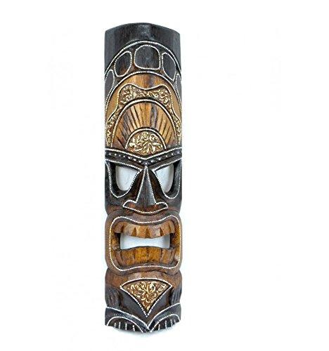 Mscara-Tiki-polynsien-H50-cm-de-madera-Decoracin-extico