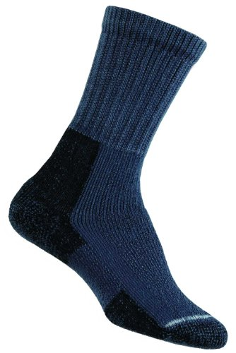 Damen 1 Paar Thorlos Wandern Dickes Kissen Socken mit Thorlon In 2 Farben - 5.5-7.5 Ladies - - Bogen Boot Kissen