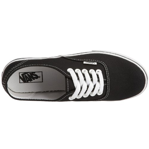 Vans Unisex-Erwachsene Authentic Lo Pro Sneakers Schwarz (Black/True White)