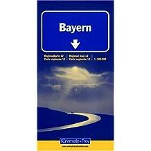 Carte routière : Bayern