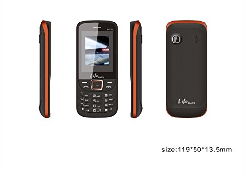 DAPS 9000 1.8 Inches Feature Gfive Keypad Mobile Phone Orange With Dual Sim Offer At Rs 799