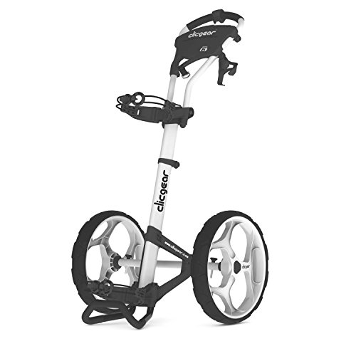 Clicgear 6.0 2-Wheel Golf Trolley, Arctic/White,