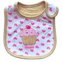 ZK.nesi Babero de bebé de Dibujos Animados bebé Babero Toalla de Saliva Impermeable de algodón de Tres Capas*1