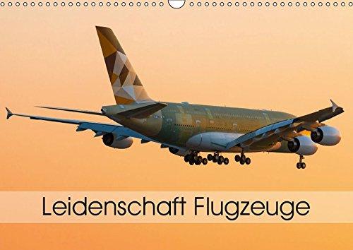 Leidenschaft Flugzeuge (Wandkalender 2019 DIN A3 quer): Atemberaubende Aufnahmen aus der Welt des Fliegens. (Monatskalender, 14 Seiten ) (CALVENDO Mobilitaet)