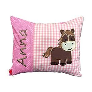 Pony - Namenskissen Kuschelkissen mit Name Die Nähfee