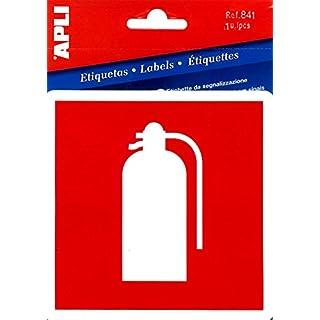 Etiquetas señalización extintor Apli 00841