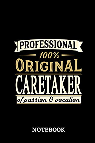 Jandy Cover (Professional Original Caretaker Notebook of Passion and Vocation)